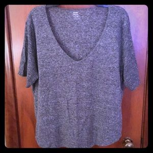 Relaxed Fit Linen Blend Tee from Old Navy